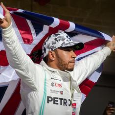 Formula One: Lewis Hamilton says he's yet to speak to Mercedes about signing a new contract