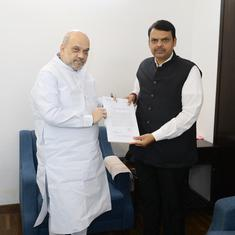 Maharashtra: Devendra Fadnavis meets Amit Shah in Delhi, claims new government will be formed soon
