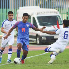 Football: Uzbekistan's second-half rally sinks India in first AFC U-19 Championship qualifying game