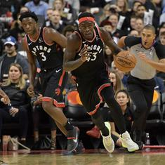 NBA: Rockets rout injury-plagued Warriors,  Raptors continue unbeaten streak at home