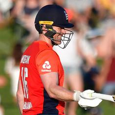 Record-breaking England cruise to victory against NZ in fourth T20I after Malan, Morgan heroics