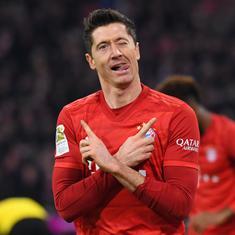 Bundesliga: Bayern bounce back from 5-1 drubbing at Eintracht Frankfurt to thrash Dortmund