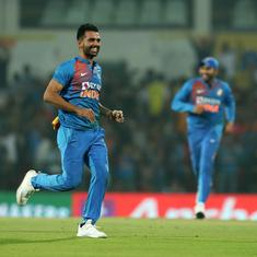 India have found a star: Twitter toasts to Deepak Chahar's record figures after T20I series win