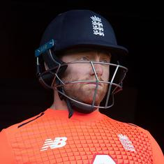England's Bairstow receives demerit point for 'audible obscenity' in T20 decider against New Zealand