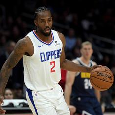 NBA wrap: Leonard and George star as Clippers beat Mavericks; Nuggets ease past Wizards