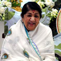 Lata Mangeshkar's health is now much better, says her team