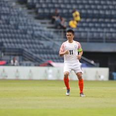 Football: Sunil Chhetri to hand over Twitter account to 'real-life captains' for Covid-19 relief