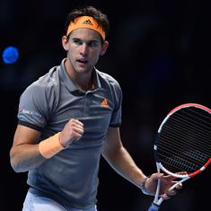 ATP Finals: Thiem reaches semi-finals, Federer faces Djokovic in final group game