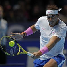 Ultimate warrior: Twitter hails Nadal for astonishing comeback win over Medvedev at ATP Finals