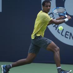 Indian tennis: Top seed Prajnesh exits; Nagal, Ramkumar clash in quarter-final of Pune Challenger