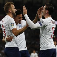 Football: Ruthless England mark 1000th match with a 7-0 win over Montenegro to qualify for Euro 2020