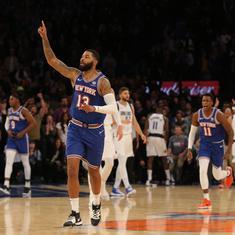 NBA: Porzingis heroics not enough as Knicks beat Mavericks; Pelicans, Heat post big wins