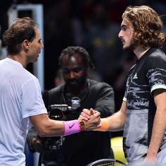 ATP Finals: Zverev, Tsitsipas qualify for semi-final as Nadal exits despite victory