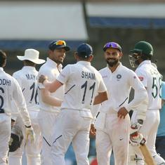 First Test: Agarwal, Shami shine as India crush Bangladesh by innings and 130 runs in Indore