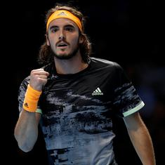 Dubai Championship: Tired Tsitsipas advances days after Marseille title, Paire wins Cilic marathon