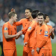 Football: Netherlands, Germany and Croatia qualify for Euro 2020; Wales in with a fighting chance