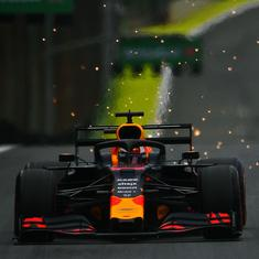 Brazilian GP: Verstappen on pole ahead of Vettel, Hamilton; Ferrari's Leclerc faces grid penalty