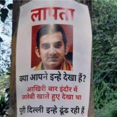'Last seen eating jalebis': Gautam Gambhir missing, say posters after he skips pollution meeting