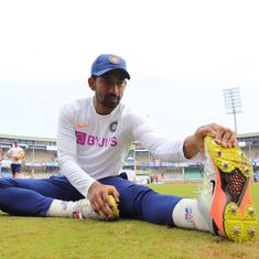 India Tour Of Australia: Injured during IPL, wicketkeeper Wriddhiman Saha returns to nets in Sydney