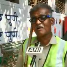 Watch: Pune sanitation worker uses Bollywood tunes to spread the message of cleanliness