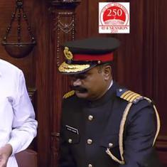 Rajya Sabha marshals' uniforms will be reviewed, says Venkaiah Naidu after ex-Army chiefs' criticism