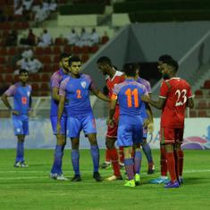 India's World Cup 2022 hopes all but over as Al Ghassani's goal hands Oman 1-0 win in qualifiers