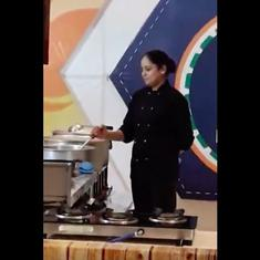 Watch: Meet the Indian chef who broke the 'longest cooking marathon' world record