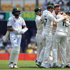 Australia pacers tear through Pakistan to take control on opening day of first Test