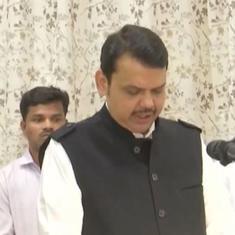 महाराष्ट्र में बाजी पलटी, देवेंद्र फडणवीस  मुख्यमंत्री बने, अजित पवार उपमुख्यमंत्री
