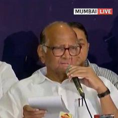 Maharashtra: Sharad Pawar says NCP will stick with Shiv Sena, BJP doesn't have a majority
