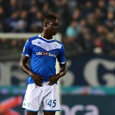 Serie A: Balotelli dropped for AS Roma fixture after altercation with Brescia coach Grosso