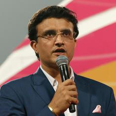 Indian domestic cricket will start once conditions permit, Sourav Ganguly tells state associations