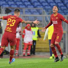Serie A: Roma beat Fiorentina to boost Champions League chances
