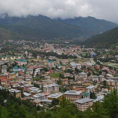 In water rich Bhutan, capital Thimphu often goes thirsty
