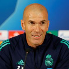 Champions League: We are not seeking revenge after 3-0 defeat in Paris, says Real Madrid's Zidane
