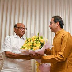 Maharashtra: Shiv Sena-NCP-Congress alliance stakes claim with Uddhav Thackeray as CM pick