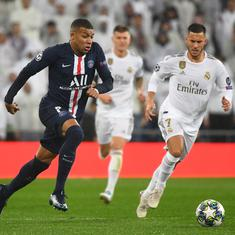 Champions League: Mbappe spurs dramatic fightback as PSG draw at Real Madrid