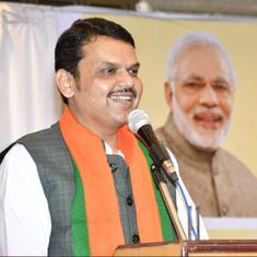 'Maharashtra government will fall on its own, BJP will provide alternative,' says Devendra Fadnavis