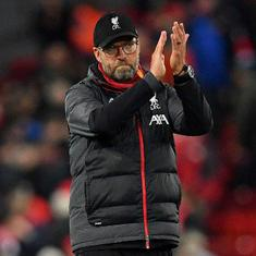 Jurgen Klopp not interested in records until high-flying Liverpool secure Premier League title