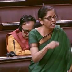 Watch: Finance Minister Nirmala Sitharaman's  colleagues napped in Parliament during her speech