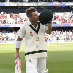 David Warner, Mitchell Starc help Australia dominate Pakistan on a record-breaking day in Adelaide
