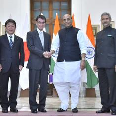 India and Japan say Pakistan-based terror networks pose risk to regional security, urge action