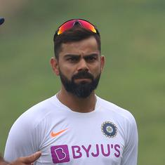 Virat Kohli hit on his left-hand finger during practice ahead of first T20I against Sri Lanka