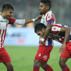 ISL: Roy Krishna scores in injury-time as ATK and Mumbai City share spoils