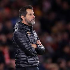 Premier League: Watford sack manager Quique Sanchez Flores after just three months in charge