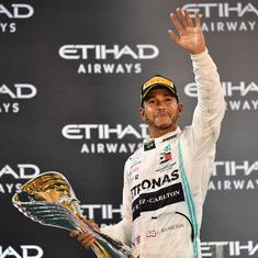 Formula One: Lewis Hamilton seals title-winning season with dominant win at Abu Dhabi Grand Prix