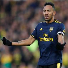 Arsenal's youngsters need to be patient because we have great players in the first team: Aubameyang