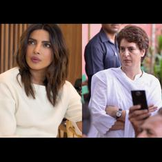 Watch: Congress leader mistakenly refers to Priyanka Gandhi as actor Priyanka Chopra