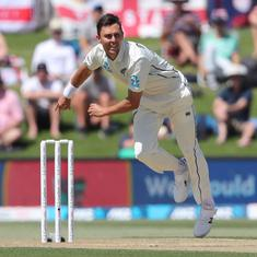 Injuries put New Zealand's Trent Boult, Colin de Grandhomme in doubt for Australia Test series