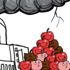 Bad Apples: An illustrated guide to the Indian banking sector crisis
